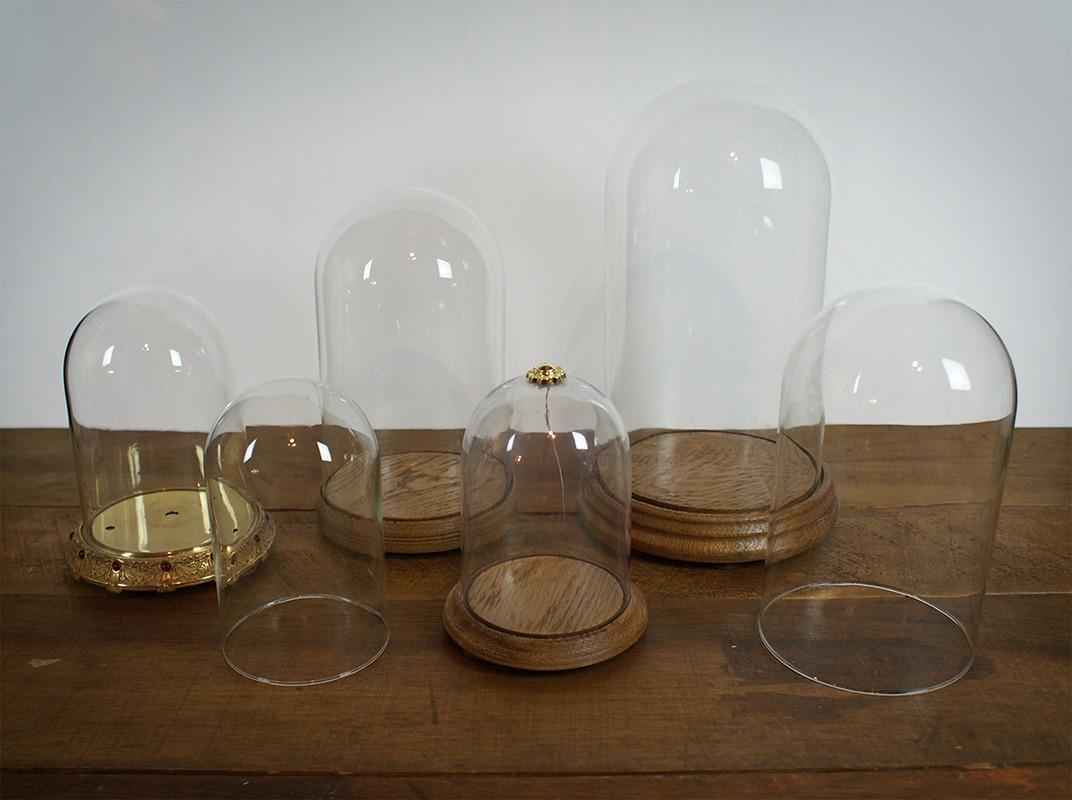 Cloches de verre