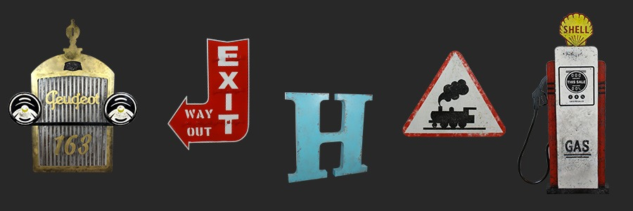 Elements muraux