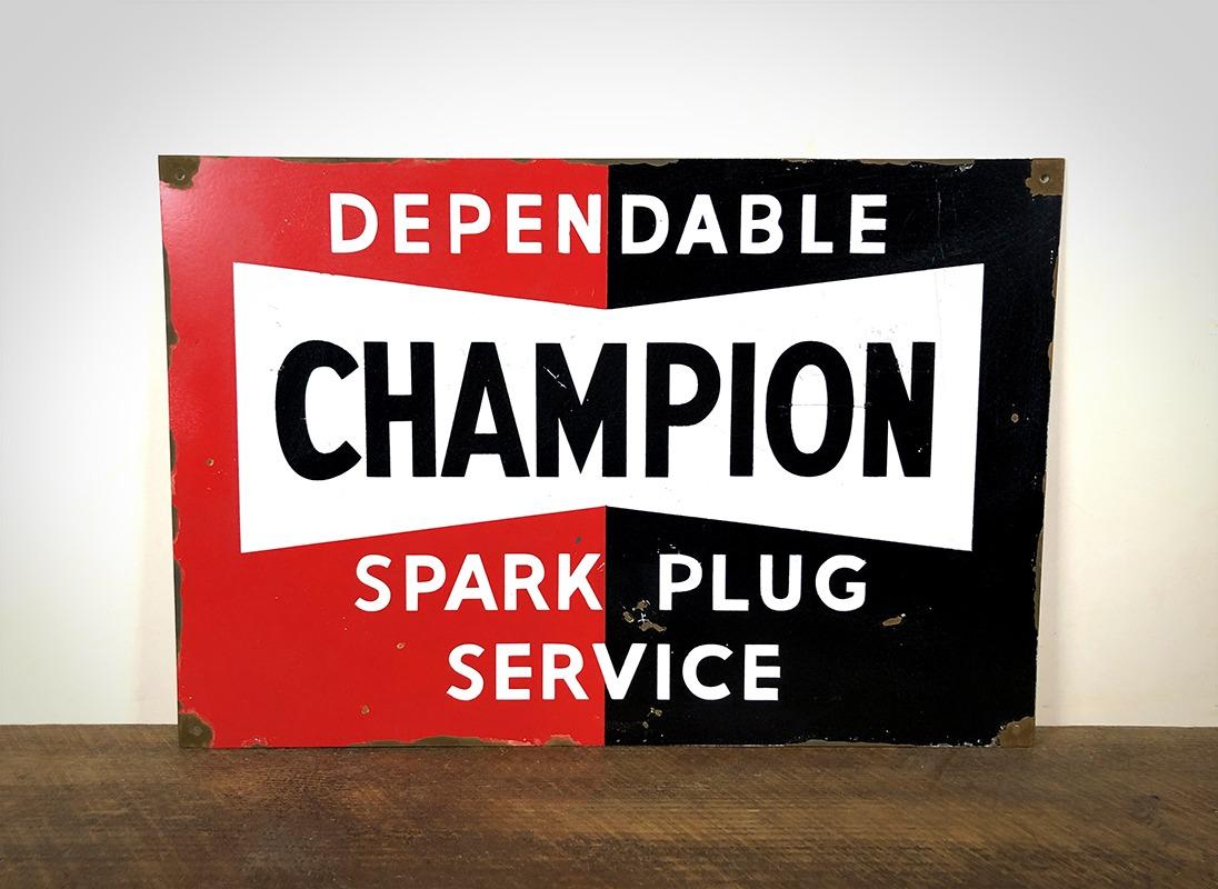 Plaque Champion