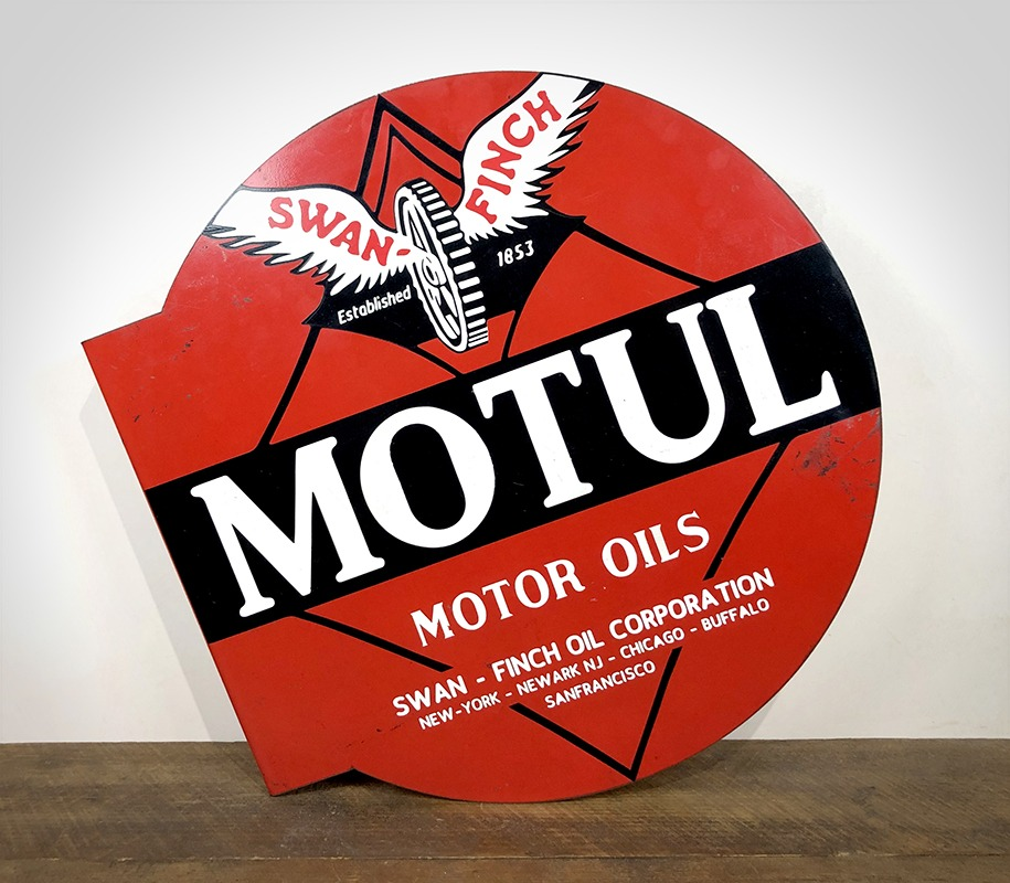 Plaque Motul Motor Oils
