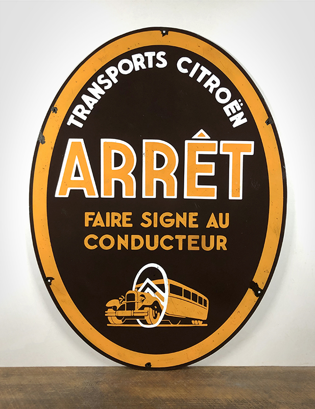 Plaque Transports Citroen