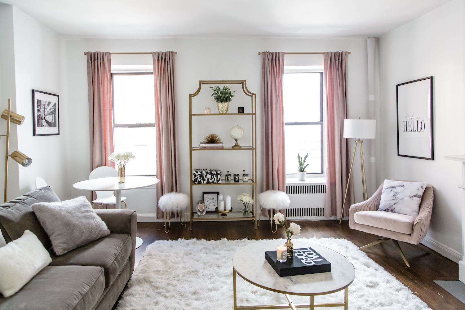 how to design my living room ideas for decorating a long wall tour transformation nyc apartment