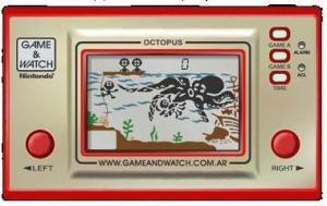 ゲーム&ウォッチ(オクトパス)