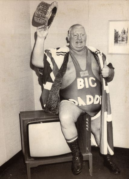 Wrestler Big Daddy (shirley Crabtree). He Died In December 1997.