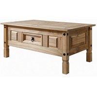 Couchtisch Holz Wohnzimmertisch Tisch aus Massiv ...