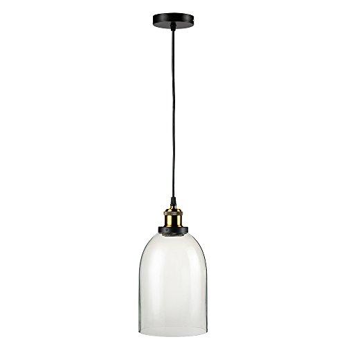 Glighone Industrie Hngelampe Vintage Pendelleuchte Glas Retro Lampenschirm Loft Deckenleuchte