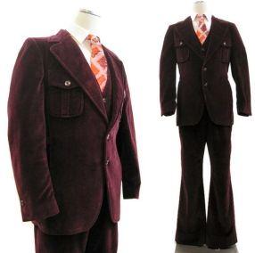 retro öltöny a 70-es években