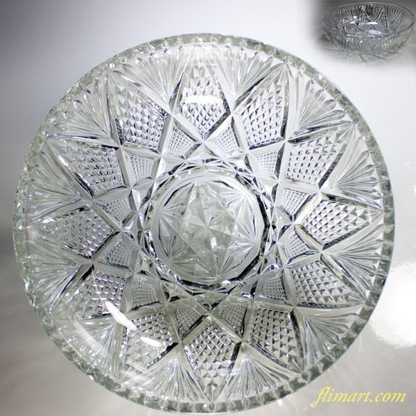 昭和レトロガラスボウルR4206
