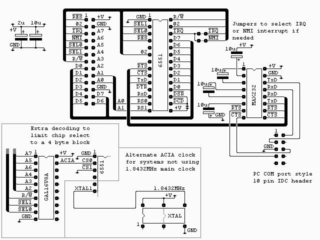 ACIA 6551