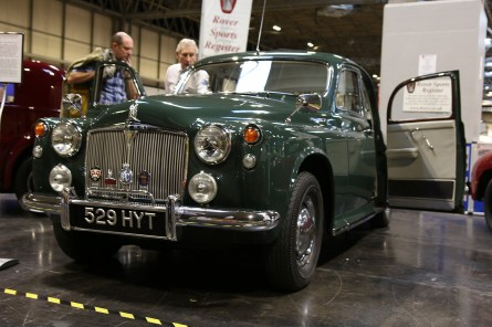 50 years of the Rover V8