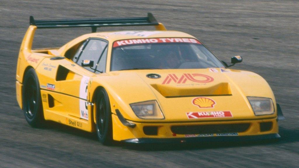1993 Ferrari F40 Michelotto LM specification