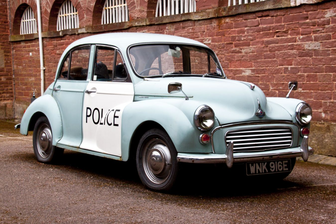 It's official: police in Scotland love a retro cop car