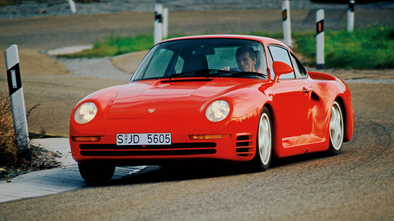30 years of all-wheel-drive Porsches