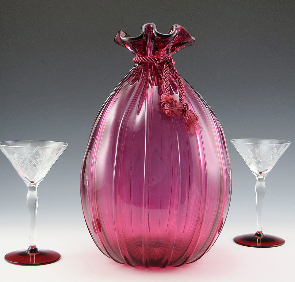 Vintage Art Glass: Click image to Browse through hundreds of antique, vintage and retro art glass and glassware objects.