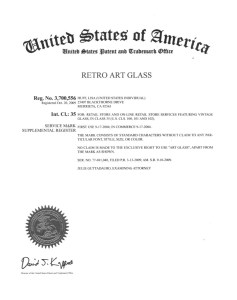 Retro Art Glass is a trademarked property. All rights reserved.
