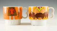 Here's a pair of guaranteed conversation starters in a mug set.