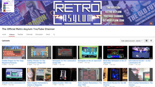 Subscribe to The Official Retro Asylum You Tube Channel!