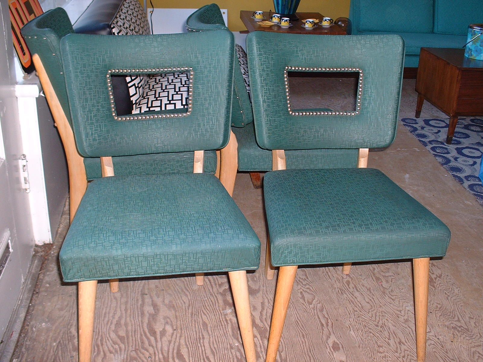 heywood wakefield chairs ice cream table and gallery gt sold seating set of 4