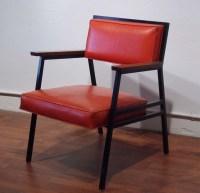 Gallery :: Mid Century, mod 1950's steelcase style orange ...