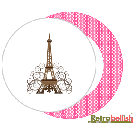 Deep-Pink-Fabric-Plate-Paris