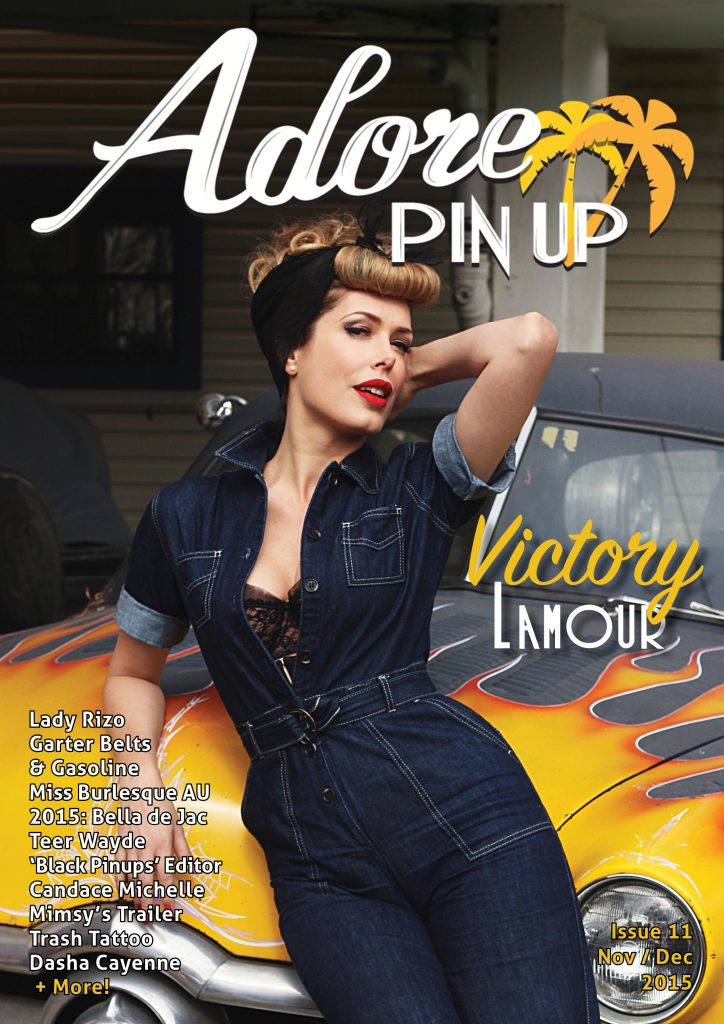 the adore pin up