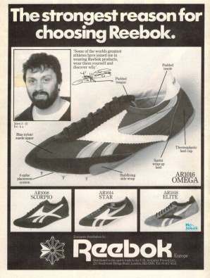 1981 Reebok Spikes Jeff Capes