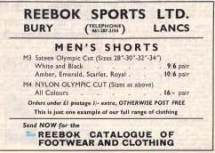 Reebok advert 1967