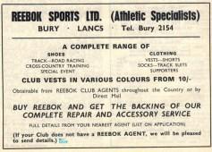 Reebok Advert Oct 1967