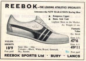 Reebok Marathon April 1967