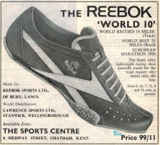 Reebok World 10 Dec 1969