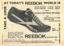 Reebok World 10 October 1969