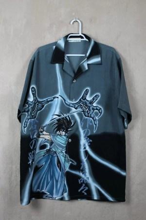 Camisa Manga Gray Samurai