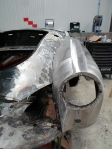 Tôlerie MG A carrosserie toulouse