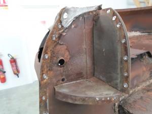 Corrosion carrosserie véhicule ancien toulouse