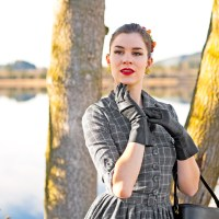 [:de]Perfekt gekleidet mit dem Idda van Munster 50's Tartan Swing Dress[:en]A perfect day dress: The Idda van Munster 50's Tartan Swing Dress[:]