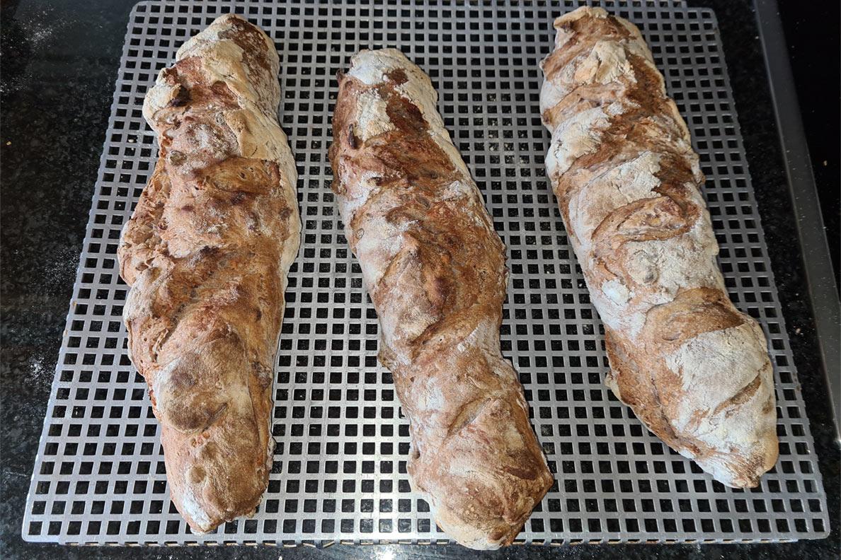 RetroCats selbstgemachte Baguettes