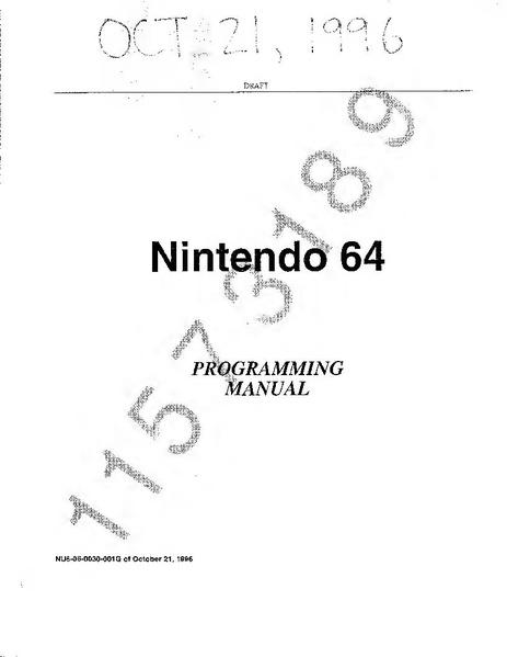File:Nintendo Ultra64 Programming Manual and Addendums.pdf