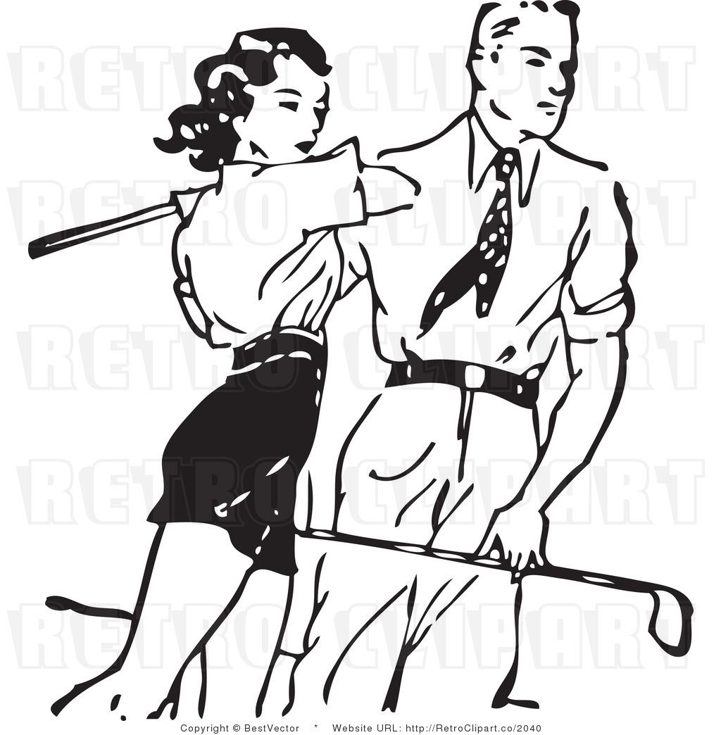 free vintage golf clip art - photo #40