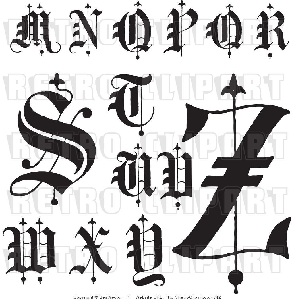 Famous Letter M Clip Art
