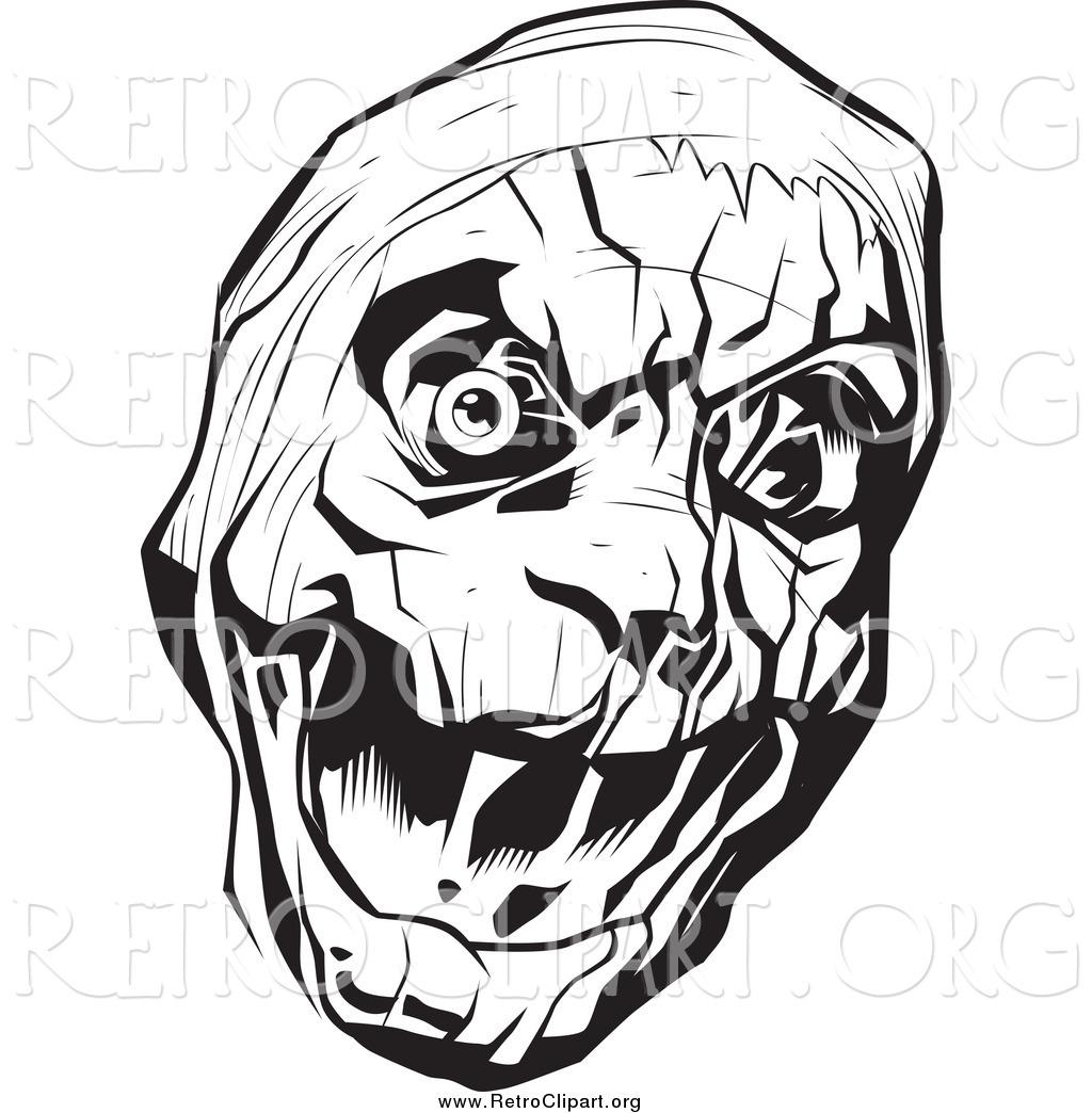 Royalty Free Horror Stock Retro Designs