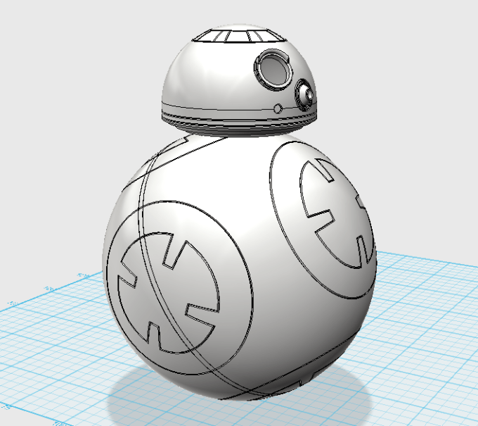 BB-8 in progress