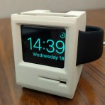 Classic Mac Apple Watch Dock
