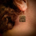 Floppy Disk Earrings – 3.5 inch disks