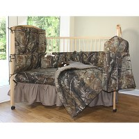 Realtree camo crib bedding