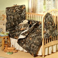 Max-4 REALTREE Indoors Camo Baby Crib Bedding Set