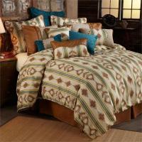Alamosa Western Bedding Rustic Comforter Set Super Queen