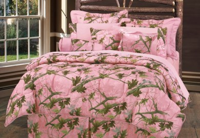 Pink Camo Bedding And Accessories