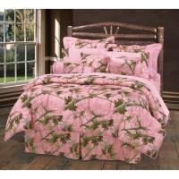 Western Bedding Pink Camo Bedding Set Queen