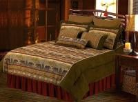 Black Bear Mountain Scenery Northwest Lodge Bedding Super ...