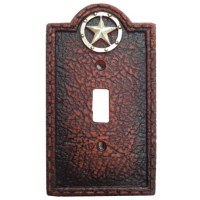 Circle Star Western Decorative Single Switch Plate Wall Plate